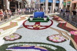 Corpus and carpet contest of flowers in Sitges and Vilanova…