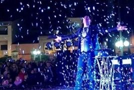 Encendido de luces de Navidad en Malgrat de Mar