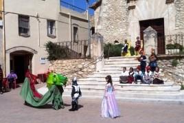 Festa de Sant Jordi a Sant Cugat Sesgarrigues