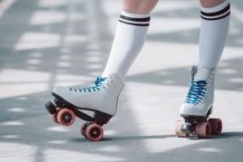 Festival artístico de patinaje en el Pla de Santa Maria