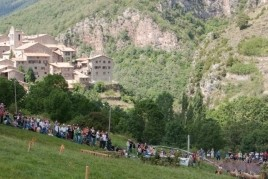 Feria de artesanos de la lana en Castellar de n'Hug