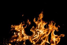 Flama del Canigó a Sant Feliu Sasserra