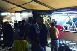 Foodtruck Market festival in the Ametlla del Vallès