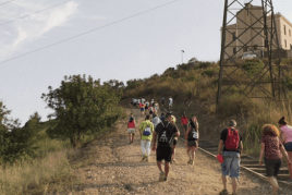 Guided itinerary Camino de Montbaig in Viladecans