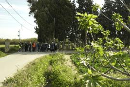 Itinerari guiat pel camí de l'Eramprunyà a Viladecans