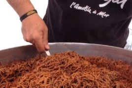 Gastronomic days of the arrossejats de la Cala noodles in L'Ametlla…