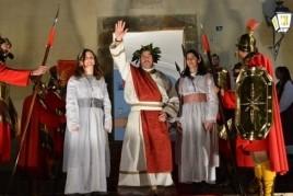 Pessebre vivent a Can Ratés a Santa Susanna