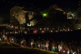 Living nativity of the Joanetes in the Vall d'en Bas