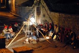 Nativité vivante de Santa Pau