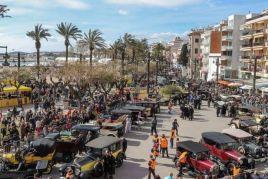 Ral·li Internacional de cotxes d'època Barcelona-Sitges