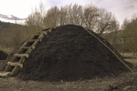 Official recovery of coal in Sant Llorenç de la Muga