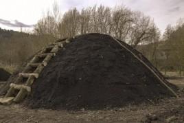 Récupération officielle du charbon à Sant Llorenç de la…