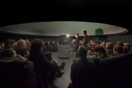 Family session at the Granollers Planetarium: Venus