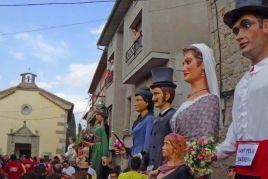 Trobada de Gegants a Sant Feliu Sasserra