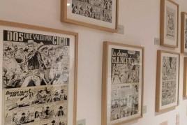 Visita al Museo del cómic y la ilustración de Sant Cugat del…