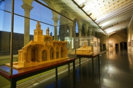 Visit to the museum of the Monastery of Sant Cugat del Vallès