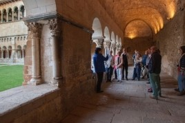 Guided visit in the Cloister of the Monastery of Sant Cugat…