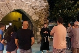 Visite guidée théâtralisée: La mémoire du moine Crispí…