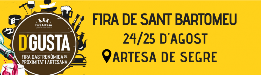Feria de San Bartolomé de Artesa de Segre