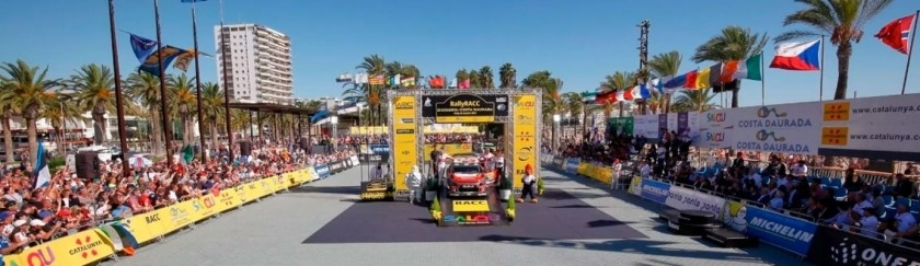 RACC Catalunya Costa Dorada Rally in Salou