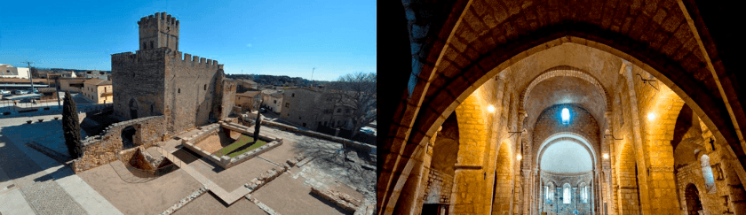 Guided tours in the Romanesque Monastery of Sant Miquel de Fluvià