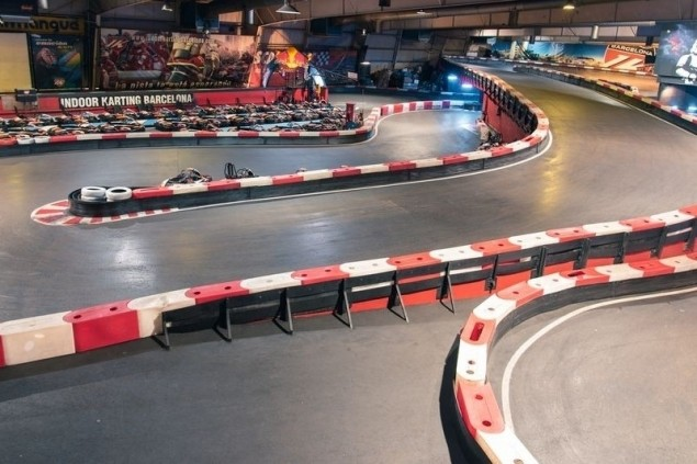 Indoor Karting Barcelona (Pista)