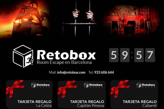 Retobox Room Escape Barcelona (Promocio)