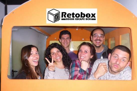 Retobox Room Escape Barcelona (Participants Bus 2)