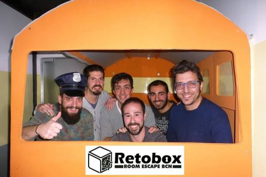 Retobox Room Escape Barcelona (Participants Bus)