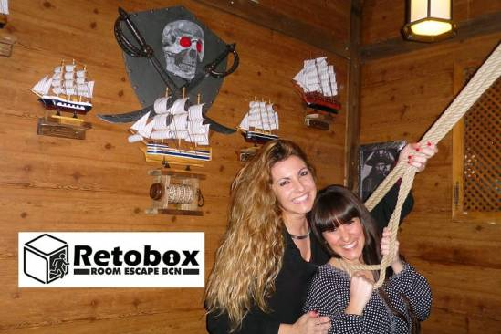 Retobox Room Escape Barcelona (Participants Pirates 2)