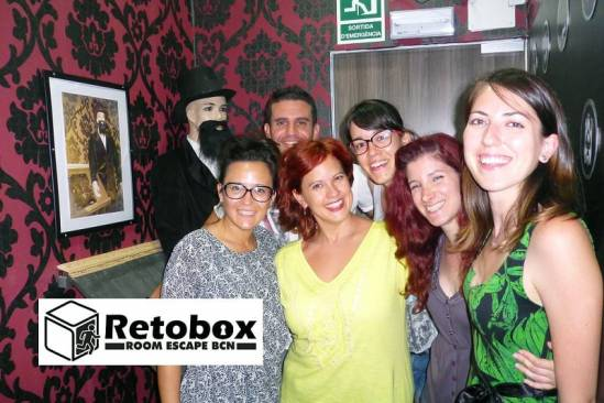 Retobox Room Escape Barcelona (Participants Sala)