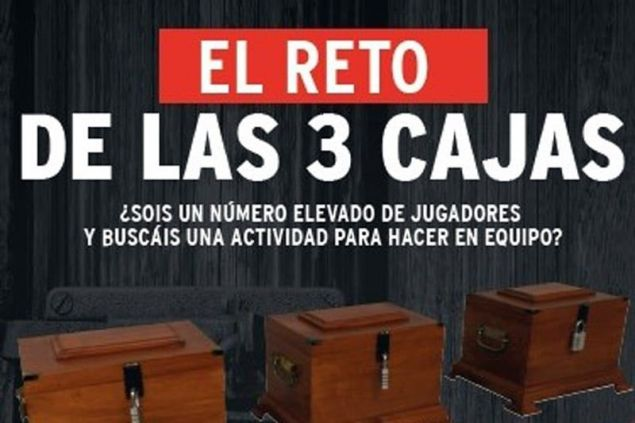 Scaparium Room Escape (Reto 3 Cajas)
