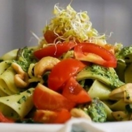 Cuisine végétarienne et végétalienne avec un sceau catalan