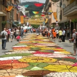 Corpus Christi festivities in Catalonia