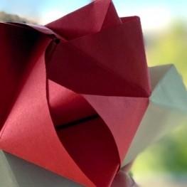 Pour Sant Jordi, faisons des roses en papier avec du femturisme