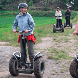 Tirage au sort: segway to Indòmit Centre d'Aventure