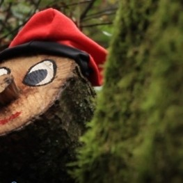 We went out to hunt El Tió de Nadal