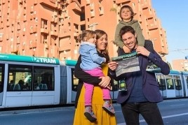 We make the Tram Route through the Baix Llobregat