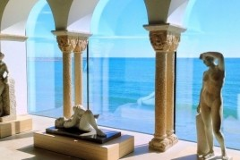 We do tourism in the museums of Garraf