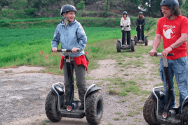 Tirage: Segway au Indòmit Adventure Centre