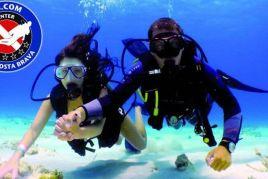 Raffle: A baptism of scuba diving