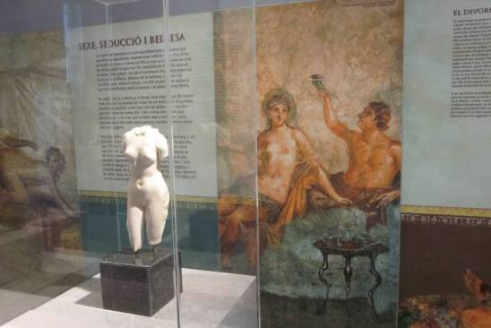 Literatura erótica de griegos y romanos. Lectura de textos