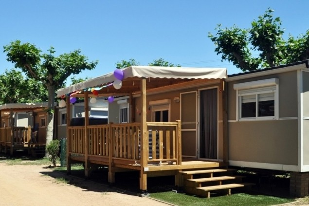 Discounts for stays in mobile-men 2021 (MOBIL HOME 5PAX PREMIUM Camping A Platja Daro)