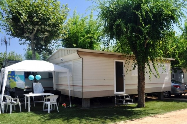 Discounts for stays in mobile-men 2021 (MOBIL HOME 4PAX Camping A Platja Daro 2)