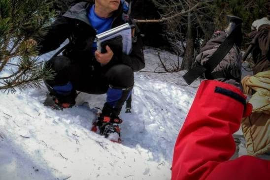 Excursiones con raquetas de nieve, nivología y seguridad