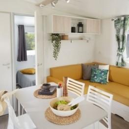 Mobil Home pour 4 personnes ou chambre pour couples à la Castañada