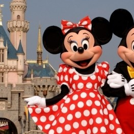 Disneyland Paris dans un groupe monoparental exclusif