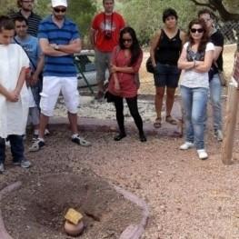 Visites teatralitzades nocturnes al poblat iber de la Moleta…
