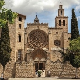 The Sant Cugat Monastery, the most powerful in the county of…