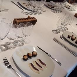 Dégustation de foie accompagnée de vins, 17 octobre 12h00